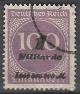 Deutsches Reich    .    Michel    .     331 B       .       O        .      Gebraucht - Deutschland