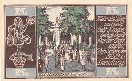 Billet Allemand - 75 Pfennig - Braunschweig 1921 - Stadtwappen, Bad Harzburger Krodobrunnen - [11] Emissions Locales