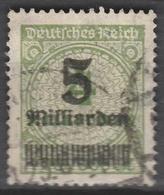 Deutsches Reich    .    Michel    .     333 AP       .       O        .      Gebraucht - Deutschland