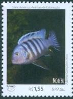 BRAZIL 2018  -  ORNAMENTAL  FISH -  DOMESTIC ANIMALS - PETS  - MINT - Unused Stamps