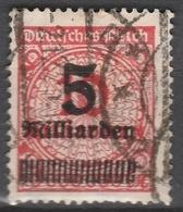 Deutsches Reich    .    Michel    .     334 A       .       O        .      Gebraucht - Deutschland