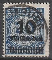 Deutsches Reich    .    Michel    .     335 AP       .       O        .      Gebraucht - Deutschland