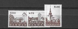 1990 MNH Danmark, Michel 986-8 Postfris** - Dänemark