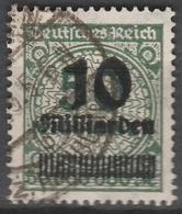 Deutsches Reich    .    Michel    .     336 AP       .       O        .      Gebraucht - Deutschland