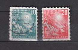 Deutschland  BRD Gestempelt 111-112 Bundestag Katalog 45,00 - BRD