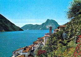 1 AK Schweiz * Gandria Ein Ortsteil Der Stadt Lugano Am Luganersee Im Kanton Tessin * - TI Ticino