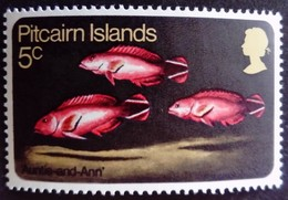Pitcairn 1970 Animal Poisson Fish Yvert 113 ** MNH - Pitcairn Islands