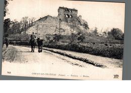 Cpa 02 Aisne Coucy Le Chateau Ruines Ruins ND Phot 968 Déstockage à Saisir - France