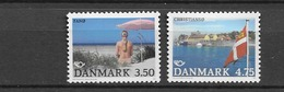 1991 MNH Danmark, Michel 1003-4 Postfris** - Dänemark