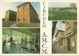Modena, Circolo Dipendenti A.M.C.M. 60° Di Fondazione, Vedute: Nuova Sede, Campo Di Calcio, Palestra, Vecchia Sede - Modena