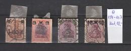 Deutschland  Deutsches Reich  Gestempelt 154-157 Mit Überdruck Katalog 12,00 - Deutschland