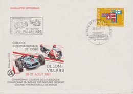 SUISSE : COURSE DE COTE D'OLLON VILLARS 1967 ( Championnats Du Monde Et D'europe ) - Automovilismo