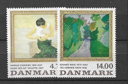 1991 MNH Danmark, Michel 1016-17 Postfris** - Danimarca