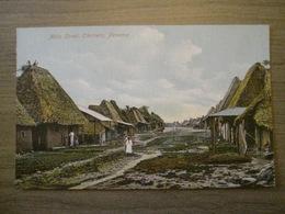 Tarjeta Postal Postcard - Panama - Main Street - Chorrera - Vibert & Dixon Kodaks 24 - Panama