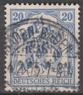 Deutsches Reich    .    Michel    .     Dienst  13       .       O        .      Gebraucht - Servizio