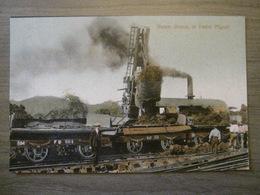 Tarjeta Postal Postcard - Panama - Steam Shovel Train At Pedro Miguel - Maduro 69 - Panama