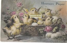 Joyeuses Paques (carte Gaufrée) - Pâques