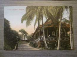 Tarjeta Postal Postcard - Panama - Ancon Hospital - Maduro Germany 42 - Panama