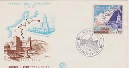 FDC MONACO : RALLYE DE MONTE CARLO 1963 - Automovilismo