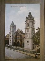 Tarjeta Postal Postcard - Panama - The Cathedral Panama City - Vibert & Dixon Kodaks 19 - Panama