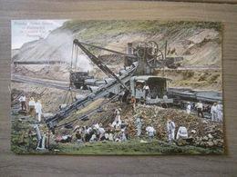 Tarjeta Postal Postcard - Panama - Showing French System Of Excavation In Culebra Cut - Mines - Vibert & Dixon Kodaks 3 - Panama