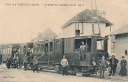 I55 - 38 - LES AVENIÈRES - Isère - Tramway Avenue De La Gare - Les Avenières