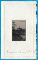 MENU Du TOURING-HÔTEL 72 St SAINT-LEONARD Des BOIS Sarthe 1922 - Menus