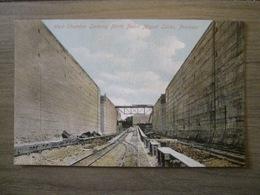 Tarjeta Postal Postcard - Panama - West Chamber Looking North Pedro Miguel Locks Canal - Vibert & Dixon Kodaks 12 - Panama