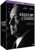 HOUSE OF CARDS  SAISON 1à 4   ( 16 DVD ) + COPY DIGITAL - Séries Et Programmes TV