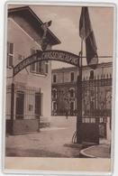 CPA06 : ANTIBES - 20e Bataillon De Chasseurs Alpins - Caserne - Militaria - Ed. De Greef -1933 - Antibes