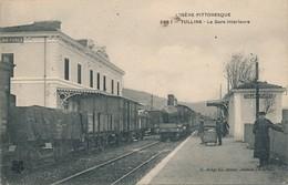 I55 - 38 - TULLINS - Isère - La Gare Intérieure - Sonstige Gemeinden