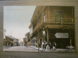 Tarjeta Postal Postcard - Panama - Street Scene - Cantina La Plata Jose Pena - Maduro Photographer 111 - Panama