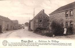 Tiège-Sart - Intérieur Du Village (animée, Hôtel De La Charmille) - Jalhay