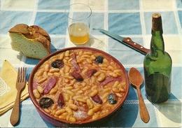 """Asturia (Oviedo) """"Fabada"""", Plato Tipico, Assiette Typique, Typical Dish Of Beans, Piatto Tipico - Asturias (Oviedo)"""