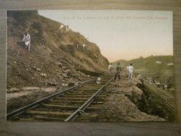 Tarjeta Postal Postcard - Panama - One Of The Ledges Cut Out Of Gold Hill Culebra Cut Railroad - Maduro Photographer 71 - Panama