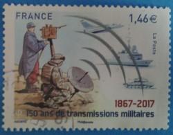 France 2017  : 150 Ans De Transmissions Militaires N° 5172 Oblitéré - France