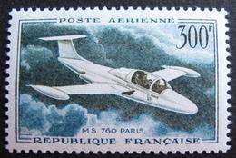 DF50500/258 - 1957 - POSTE AERIENNE - MS 760 PARIS - N°35 NEUF* - LUXE - Airmail