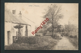 Sivry- Rance. Panorama, Attelage -  2 Scans - Sivry-Rance