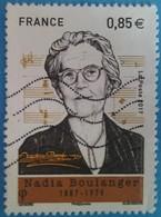 France 2017  : Nadia Boulanger, Pianiste, Organiste, Compositrice Et Chef D'orchestre N° 5169 Oblitéré - France