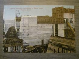 Tarjeta Postal Postcard - Panama - Gatun Locks Massive Concrete Construction - Panama Canal - Maduro Jr. I - Panama