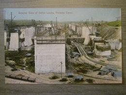 Tarjeta Postal Postcard - Panama - General View Of Gatun Locks - Panama Canal - Maduro Jr. I - Panama