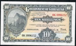 GIBRALTAR NLP 10 SHILLINGS 2018 REPRINT UNC. - Gibraltar
