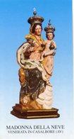 Casalbore (Avellino) - Santino MADONNA DELLA NEVE - PERFETTO P90 - Religione & Esoterismo