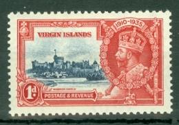 British Virgin Is: 1935   Silver Jubilee   SG103    1d       MH - British Virgin Islands