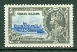 British Virgin Is: 1935   Silver Jubilee   SG104    1½d       MH - British Virgin Islands