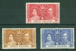 British Virgin Is: 1937   Coronation   MNH - British Virgin Islands