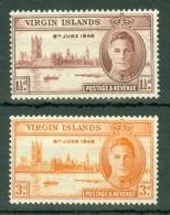 British Virgin Is: 1946   Victory   MNH - British Virgin Islands