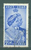 British Virgin Is: 1949   Royal Silver Wedding   SG124   2½d   Used - British Virgin Islands
