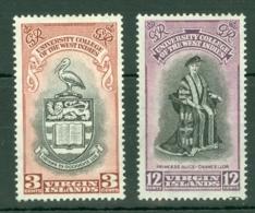 British Virgin Is: 1951   B.W.I. University College Inauguration   MH - British Virgin Islands
