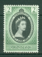 British Virgin Is: 1953   Coronation   MH - British Virgin Islands